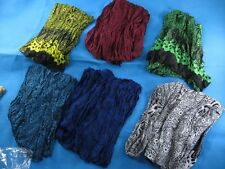 *US SELLER*wholesale lot of 12 crinkle scarf luau cruise dress wrap pareo sarong
