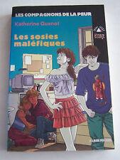 LES COMPAGNONS DE LA PEUR , LES SOSIES MALEFIQUES . 180 PAGES  EN BON ETAT .