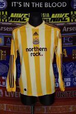 4/5 Newcastle United adults M 2009 away long sleeve football shirt jersey