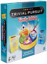 Hasbro TRIVIAL PURSUIT Family Edition Board Game - NEW - signed for postage