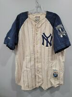 Rare VTG Mirage Cooperstown New York Yankees MICKEY MANTLE 7 Jersey Mens XL