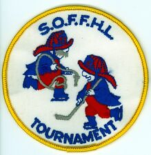 SOFFHL Southern Ontario Fire Fighters Hockey League Tournament Patch Canada HTF