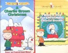 Charlie Brown Peanuts Holiday Christmas Classics 2 VHS Video Lot