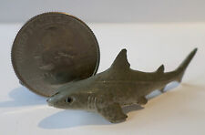 "New 1 Pc GREY SHARK Plastic Figurine Diorama 2"" long Oceanic Life Aquarium Tank"