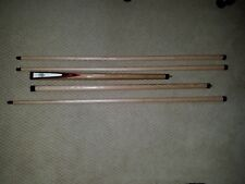 Richard Black  Custom Snooker Cue with 3 Shafts! 3-Sections! Rare to see in USA!
