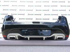 RENAULT CLIO RS 2013-2016 pare-chocs arrière entièrement Complet Véritable [R95]