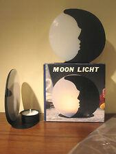 NEU ! großes modernes Teelicht Motiv: Mond original & verpackt Kerze Weihnachten