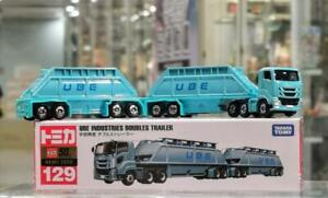 Tomica No 129 - UBE Industries Doubles Trailer