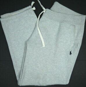 Polo Ralph Lauren Sweatpants/Track Pants Heather Gray Mens L Activewear