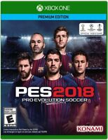 Pro Evolution Soccer PES 2018: Standard Edition (Microsoft Xbox One, 2017)