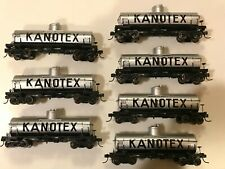 1 Kanotex HO Tank Car from Proto 2000 fitted w/Kadee couplers