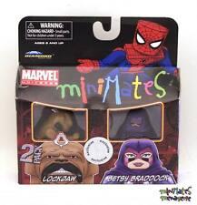 Marvel Minimates TRU Toys R Us Wave 7 Lockjaw & Betsy Braddock