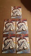 2020-21 (5) Card Lot UD Young Guns Rookie RC Pavel Francouz