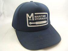 Maritime Hydraulic HRC Hat Vintage Dark Blue Snapback Baseball Cap