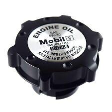 Black Oil Cap Filler Racing Billet Aluminum Fits LS1 LS2 LS3 LS6 Mobile One