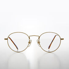 Gold Round Reading Glasses Polo Shape 1.75 diopter - Hodges