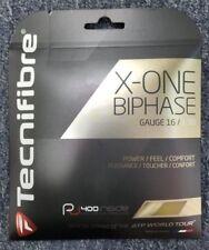 Tecnifibre X-One Biphase 16 Gauge 1.30mm Tennis String NEW Natural