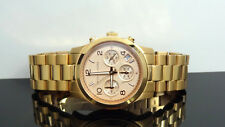 Michael Kors MK5128 Runway Rose Gold Stainless Steel Chronograph Women's Watch