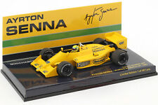 Ayrton Senna Lotus 99T #12 Winner Monaco GP Formel 1 1987 1:43 Minichamps