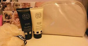 GRACECOLE Cleanse & Soothe BODY BEAUTIFUL BATH SET~Body Ball, Body Wash, Lotion