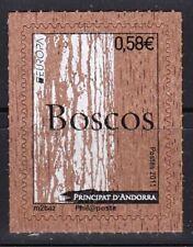 French Andorra 2011 Europa CEPT Unique Unusual Cork Stamp
