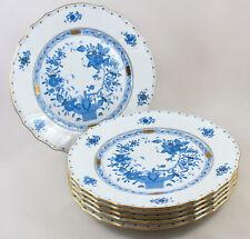 """RARE Herend porcelain Indiano Cesto Blu FB 10 1/4 """"Cena Piastre 1524 x 6 1ST"""