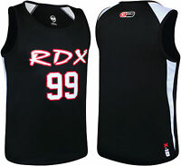 RDX Gym Vest Mens Top BodyBuilding Boxing Tank TShirt Stringer Fitness Running K