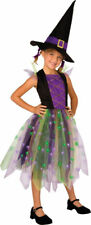 Morris Costumes Girls Polyester Rainbow Witch Complete Costume 12-14. LF3083CLG