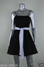 B Darlin New Black Cotton Belted Sleeveless Juniors Party Dress MSRP$69  9/10