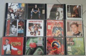 lotto misto 12 cd musica italiana originali