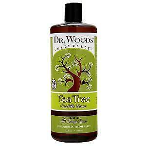 Dr. Woods Castile Soap Liquid Tea Tree 32 fl.oz