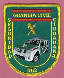 SPAIN GUARDIA CIVIL SEGURIDAD CIUDADANA PUBLIC ORDER & PREVENTION POLICE PATCH