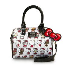 Loungefly Bag Santb1476 Hello Kitty Multi Kitty Embossed Duffle