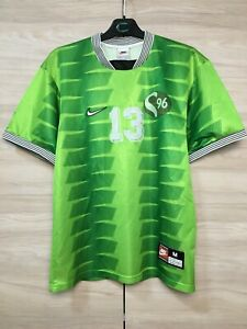 N i k e S96 Vintage 1990's Sport Shirt #13 Jersey Maglia Camiseta size M