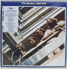 "NEW & Sealed! The Beatles ""1967-1970"" 2-LP Vinyl Record Set (Blue) Gatefold Free"