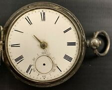 Silver Pocket Watch Antique Cambridge Sterling