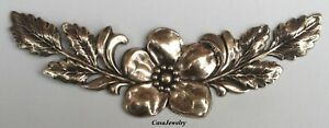 #5003RS LARGE ANTIQUED GOLD DOGWOOD COMPONENT - 1 PC