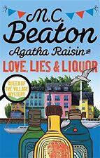 AGATHA RAISIN Love Lies & liquori __ NUOVO __ SPEDIZIONE POSTALE GRATIS UK