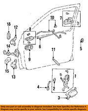 TOYOTA OEM 94-98 T100 Front Door-Lock Latch Kit 6931034030