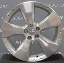 Genuine SUBARU FORESTER XT 5 Spoke argento/cerchi in lega lucidata X4
