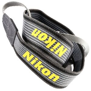 Nikon Neck Strap for Film SLR & DSLR F4 F5 F100 D700 D5500 D3000 FM F2 F3 (E43T)