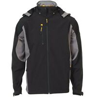 Mens JCB Stretton Softshell Water Repellent Breathable Work Wear Jacket Coat Siz