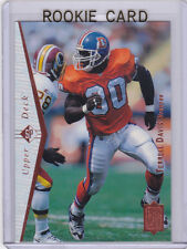 TERRELL DAVIS 1995 Upper Deck SP DENVER BRONCOS ROOKIE CARD Football RC