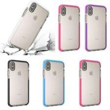Étuis, housses et coques iPhone X en silicone, caoutchouc, gel pour téléphone mobile et assistant personnel (PDA) Apple