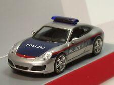 """Herpa Porsche 911 Carrera """"Polizei Österreich"""" (A) - 093507 - 1:87"""