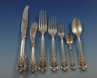 Grande Baroque by Wallace Sterling Silver Flatware Set for 8 Service 59 Pieces