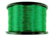 TEMCo Magnet Wire 18 AWG Gauge Enameled Copper 155C 5lb 995ft Coil Green