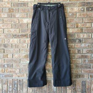 Columbia Convert Boardwear Women's Black Snow Ski Omni Tech Pants Size Small