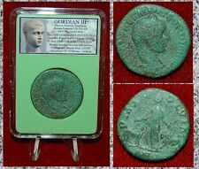 Roman Empire Coin GORDIAN III Moesia With Bull And Lion On Reverse Large Coin