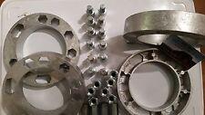 Lote de 4 separadores rueda +30mm ACERO NUEVO nissan pick up kingcab Terrano D21
